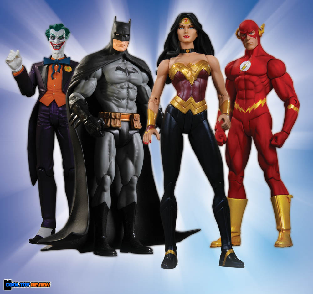 [DC Direct] Justice League: Heroes and Foes Action Figures - SERIES 1 DCD-JusticeLeague1