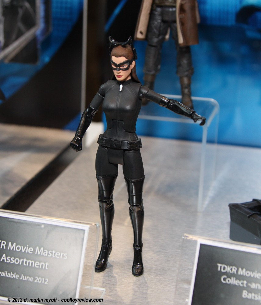 Mattel The Dark Knight Rises Movie Masters Catwoman