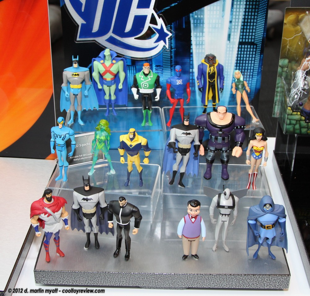 Justice League Unlimited Final Three-Packs