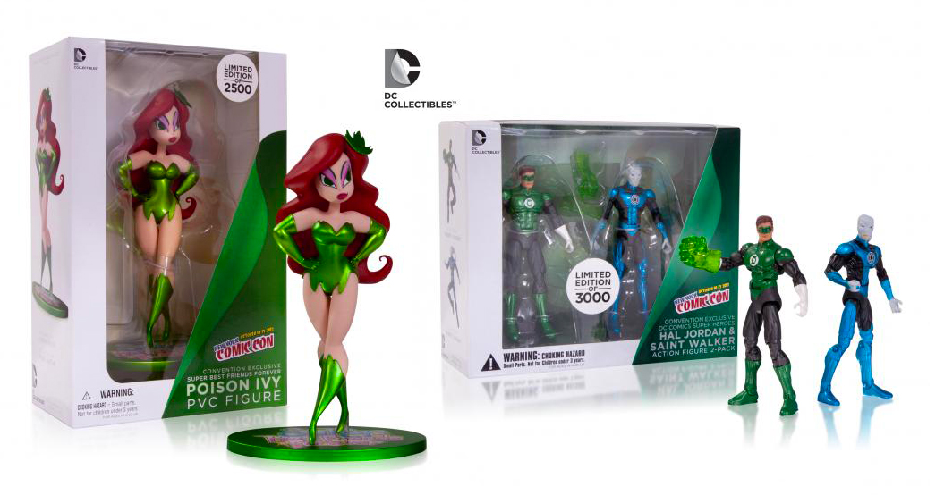 NYCC Exclusive Hal Jordan /& Saint Walker Action Figure 2-Pack Limited to 3000