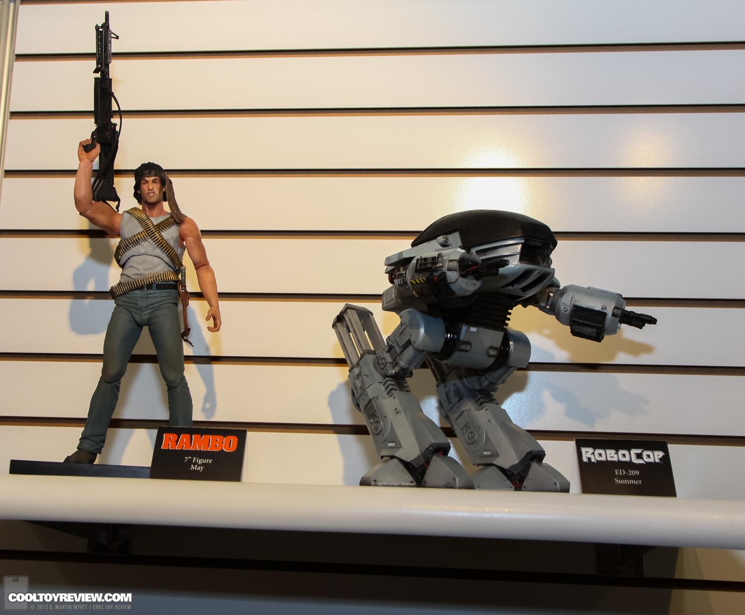 "[NECA] Rambo – 7″ Action Figure – Series 1 ""First Blood"" (Case 6)  2013_International_Toy_Fair_NECA-118"