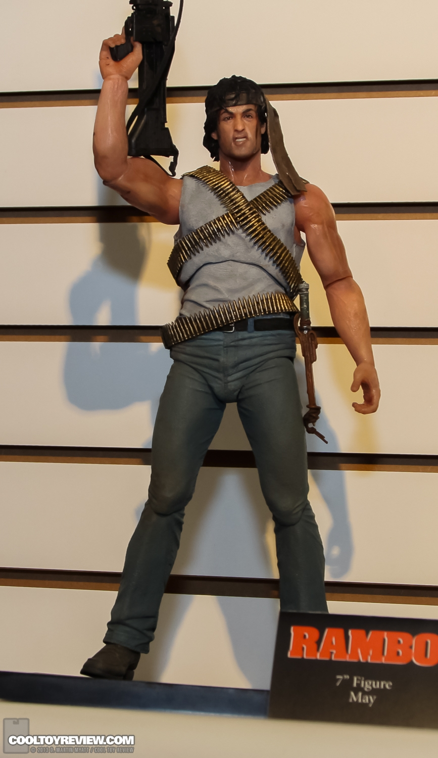 "[NECA] Rambo – 7″ Action Figure – Series 1 ""First Blood"" (Case 6)  2013_International_Toy_Fair_NECA-119"