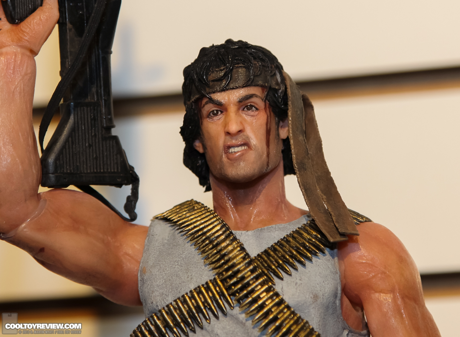 "[NECA] Rambo – 7″ Action Figure – Series 1 ""First Blood"" (Case 6)  2013_International_Toy_Fair_NECA-120"