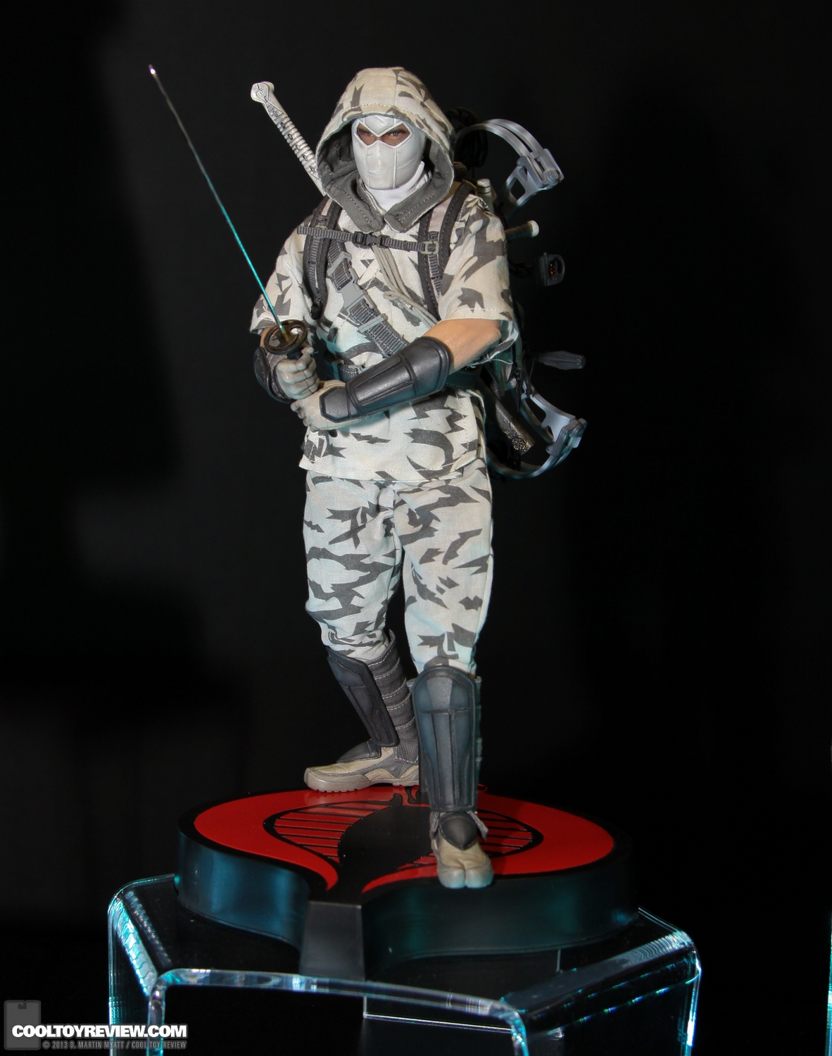[Sideshow] G.I. Joe: Storm Shadow Sixth Scale Figure SDCC_2013_Sideshow_Collectibles_Wed-009