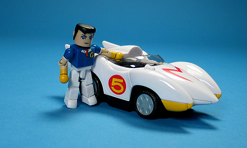 classic speed racer with mach 5 source speed racer year 2007 ... Speedracer