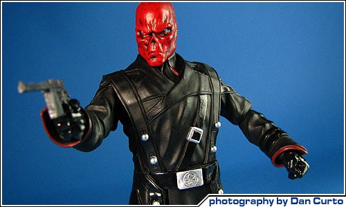 COOL TOY REVIEW: Marvel Select Photo Archive - Red Skull ... Shadow On The Wall Movie