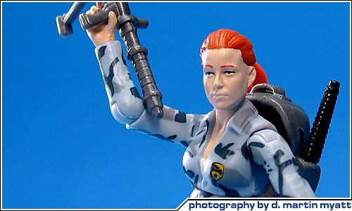 Cool Toy Review G I Joe Rise Of Cobra Scarlett Action Figure