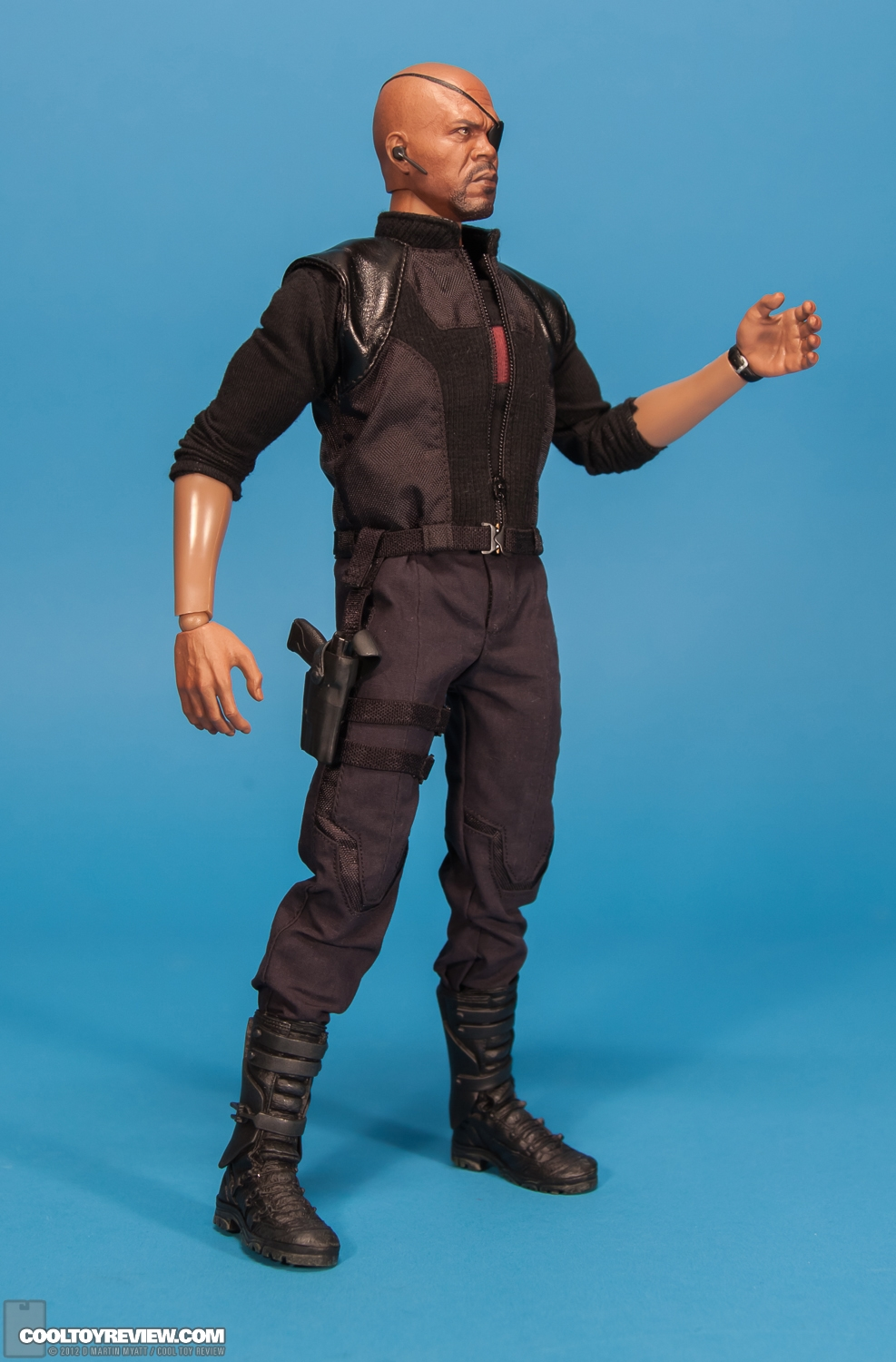 Hot Toys Nick Fury | Black Models Picture