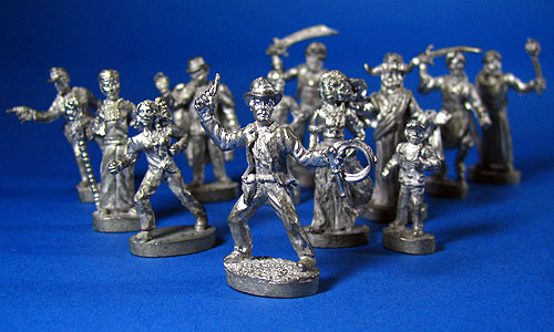 TSR Unpainted Metal Miniatures