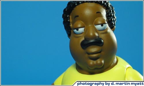 Cleveland Family Guy Toys : Cool toy review action figure news