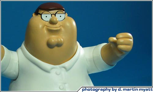 Family Guy Peter Toy : Cool toy review action figure news