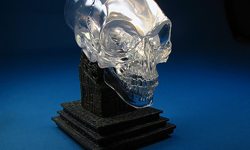 Crystal Skull Jones Jones Mini Crystal Skull