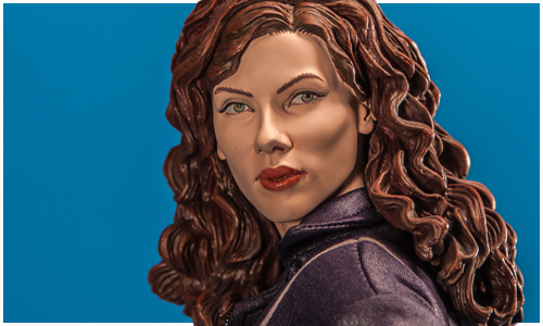 Exclusive Edition Iron Man 2 Black Widow Premium Format Figure from Sideshow Collectibles