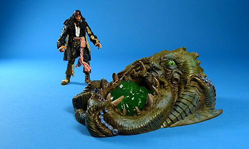 The gallery for --> Kraken Pirates Caribbean Toy
