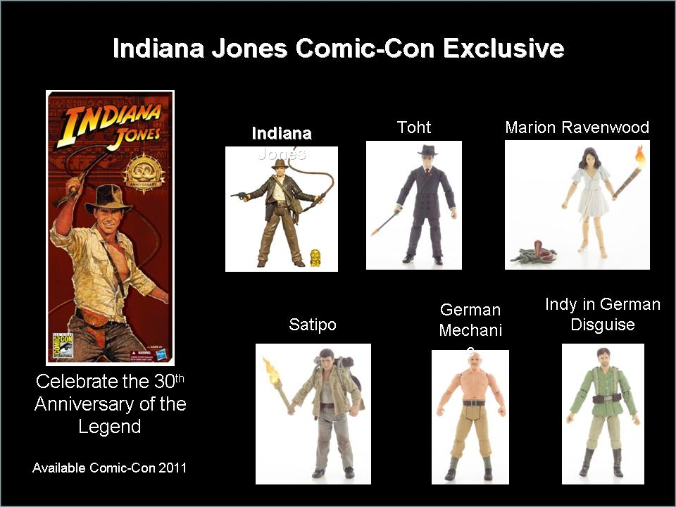 Indiana Jones Action Figures