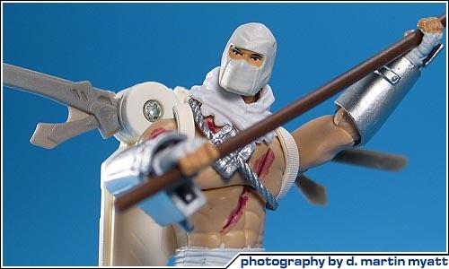 NEW G.I Joe The Rise Of Cobra Storm Shadow Arctic Assault Action Figure