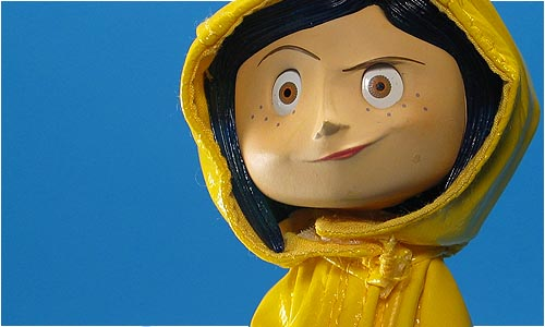 Cool Toy Review Neca Coraline Raincoat Bendy Doll